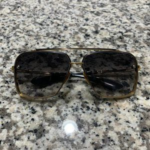 Authentic DITA MACH SIX Sunglasses Gold Black
